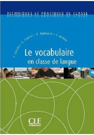 Vocabulaire en classe de langue