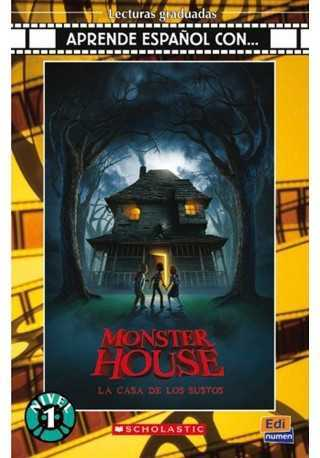 Monster House Casa de los sustos libro + CD audio