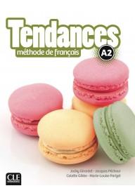 Tendances A2 podręcznik + DVD