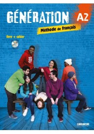 Generation A2 podręcznik + ćwiczenia + CD mp3 + DVD