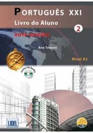Portugues XXI 2 podręcznik + ćwiczenia + CD audio
