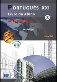 Portugues XXI 3 podręcznik + ćwiczenia + CD audio