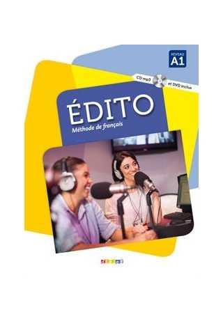 Edito A1 podręcznik+CD/MP3+DVD