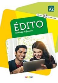 Edito A2 podręcznik+CD/MP3+DVD