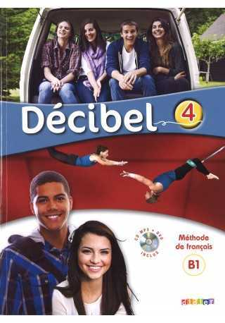 Decibel 4 podręcznik + CD MP3 + DVD