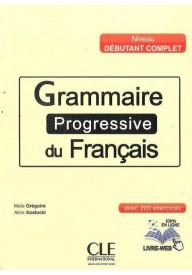 Grammaire Progressive du Francais niveau debutant complet