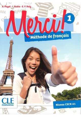 Merci 1 Podręcznik + DVD