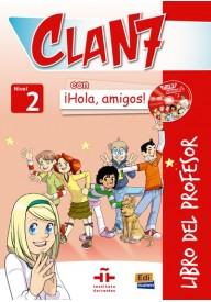 Clan 7 con Hola amigos 2 przewodnik metodyczny