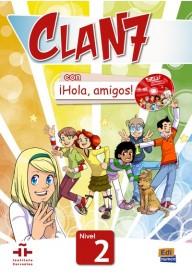 Clan 7 con Hola amigos 2 podręcznik + zawartość online