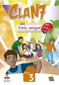 Clan 7 con Hola amigos 3 podręcznik + zawartość online