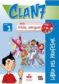 Clan 7 con Hola amigos 1 przewodnik metodyczny
