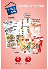 Clan 7 con Hola amigos 2 zestaw dla nauczyciela