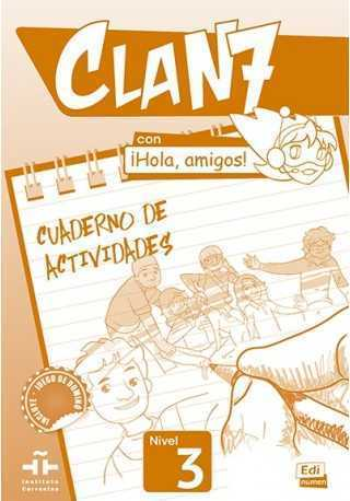 Clan 7 con Hola amigos 3 ćwiczenia