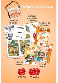 Clan 7 con Hola amigos 3 zestaw dla nauczyciela