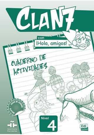 Clan 7 con Hola amigos 4 ćwiczenia