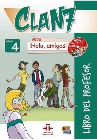 Clan 7 con Hola amigos 4 przewodnik metodyczny