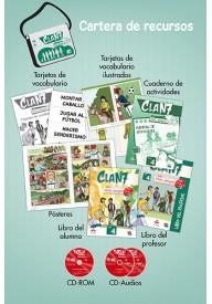 Clan 7 con Hola amigos 4 zestaw dla nauczyciela