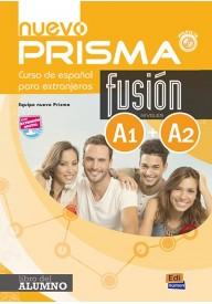 Nuevo Prisma fusion A1+A2 podręcznik + zawartość online