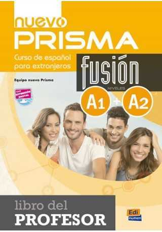 Nuevo Prisma fusion A1+A2 przewodnik metodyczny