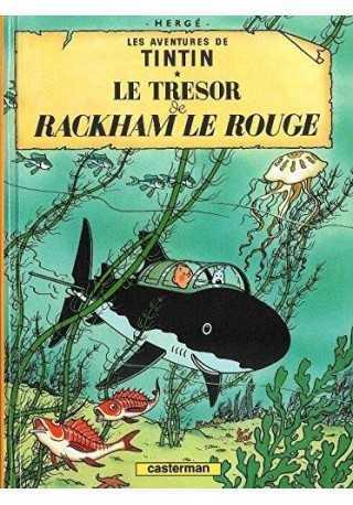 Tintin Tresor de Rackham le rouge