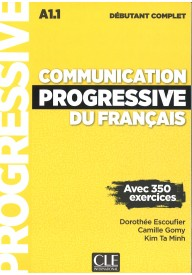 Communication progressive debutant complet 3ed książka + CD MP3