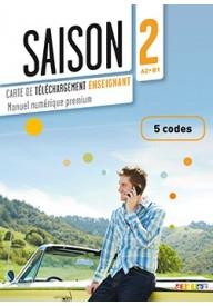 Saison 2 karta kodów 5 podręcznik