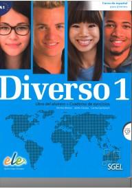 Diverso 1 podręcznik i ćwiczenia + CD audio