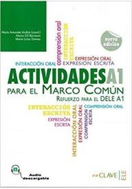 Actividades para el MCER A1 ksiązka + audio