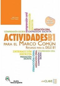 Actividades para el MCER B1 książka + audio