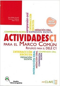 Actividades para el MCER C1 książka + audio