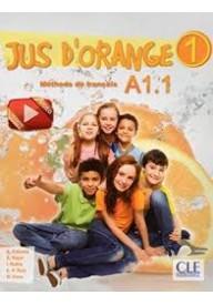 Jus d'orange 1 A1.1 podręcznik z płyta DVD ROM