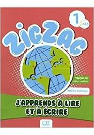 Zig Zag 1 A1.1 Apprends a lire et a ecrire