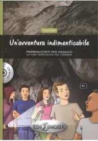 Un'avventura indimenticabile ksiażka + płyta CD poziom B1