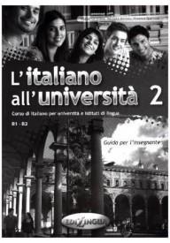 Italiano all'Universita 2 przewodnik metodyczny