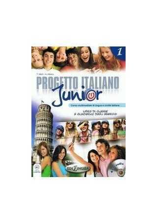 Progetto Italiano Junior 1 podręcznik + CD audio