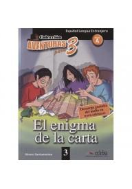 Aventuras para 3: Enigma de la carta + audio do pobrania A1/A2 cz. 3
