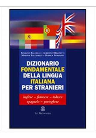 Dizionario fondamentale della lingua italiana per stranieri
