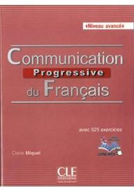 Communication progressive avance 2ed książka + CD audio