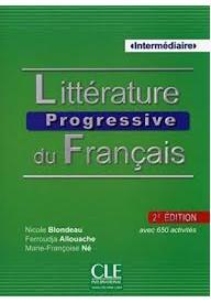 Litterature Progressive du Francais 2ed książka + płyta MP3