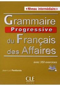 Grammaire progressive du francais Affaire książka