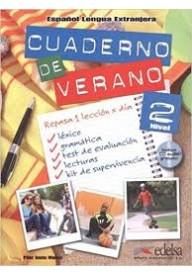 Cuaderno de verano 2 książka + CD audio
