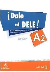 Dale al DELE A2 książka + 2 płyty CD audio + klucz