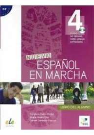 Nuevo Espanol en marcha 4 podręcznik + CD audio