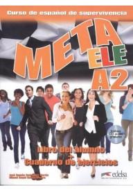 Meta A2 podręcznik + ćwiczenia + CD audio