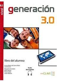 Generacion 3.0 A1 podręcznik + płyty CD audio i MP3