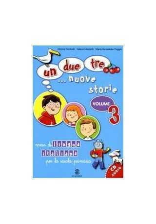 Un due tre nuove storie 3 podręcznik + CD audio