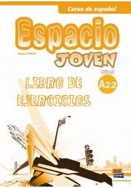 Espacio Joven A2.2 - zeszyt ćwiczeń - Klasa 3 Gimnazjum