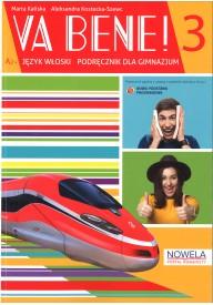 Va bene! 3 - podręcznik ucznia + zeszyt ćwiczeń + słownik tematyczny - nagrania audio on-line