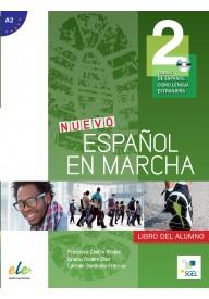 Nuevo Espanol en marcha 2 podręcznik + CD audio