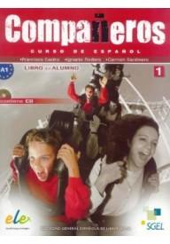 Companeros 1 podręcznik + CD audio